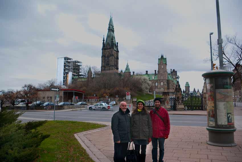 De visita por Ottawa