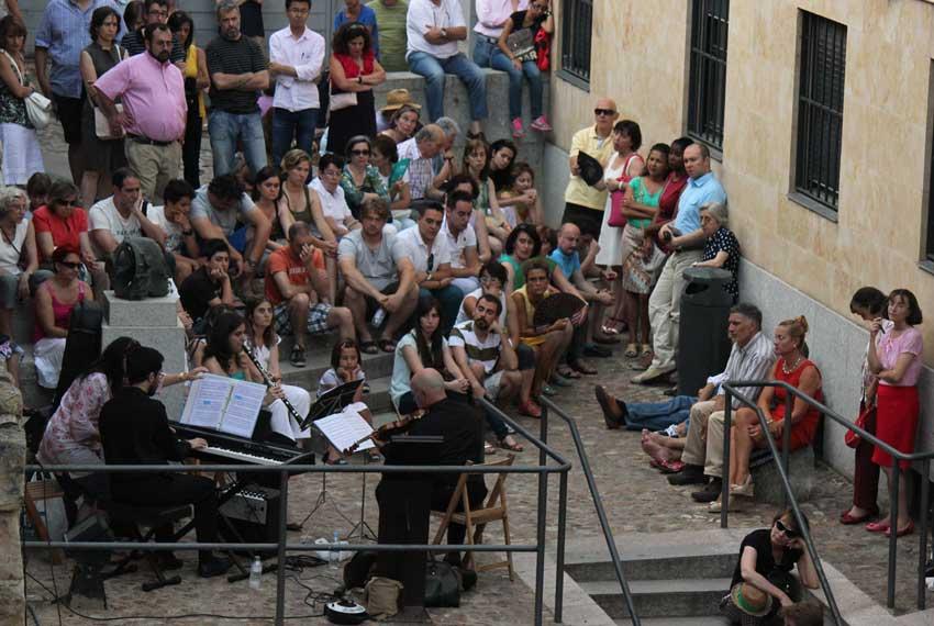 Trío Contrastes, Cueva de Salamanca. 20/07/2013