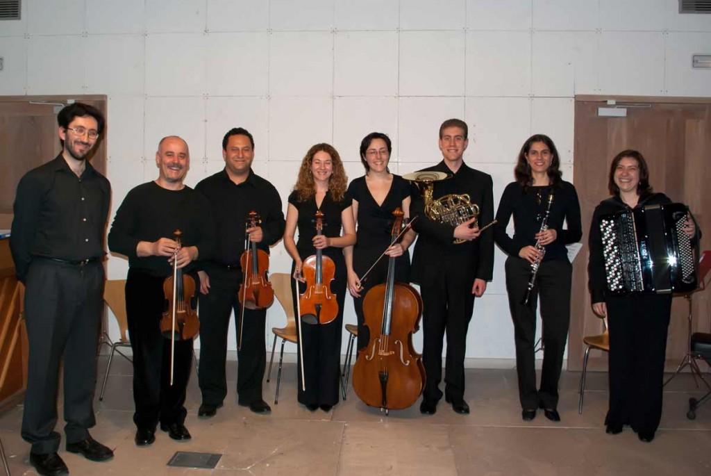 Ensemble Contrastes - Casa de las Conchas (Marzo 2009)