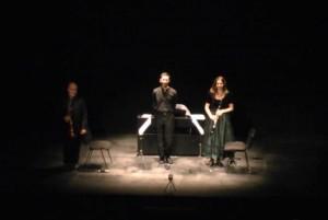 Trío Contrastes, Música de compositores españoles del XIX, concierto didáctico en el Teatro Liceo. 10/03/2011