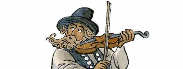 Violinista en el tejado (fragmento)